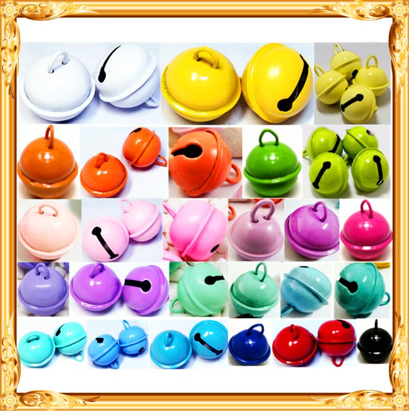 22mm Craft gift <strong>metal</strong> round color bells