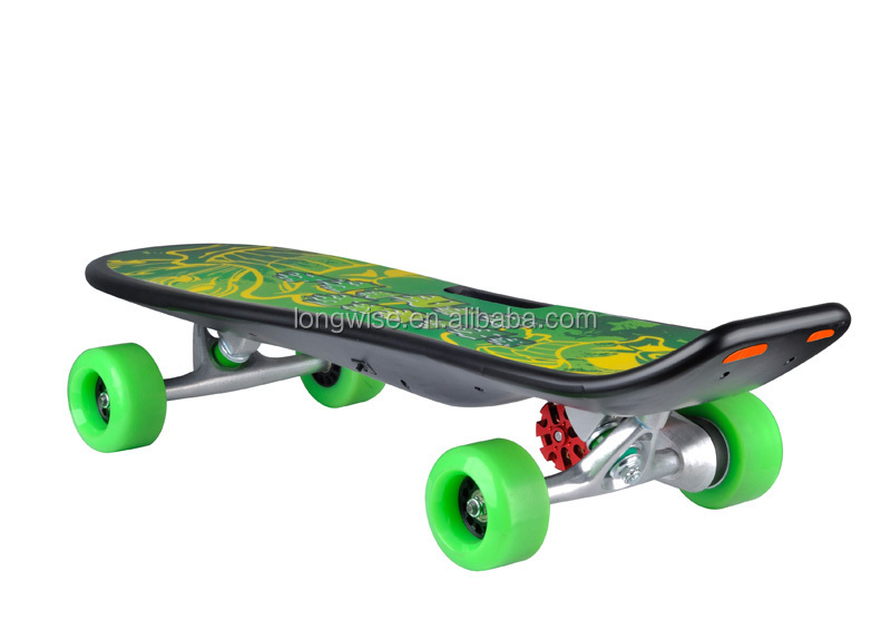 200w brushless electric skateboard with wireless remote control