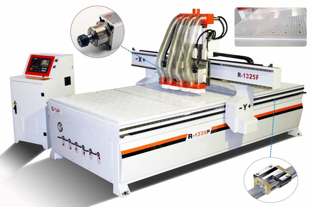 R-1325F CNC Router Wood working Machine