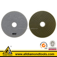 50 Grit Wet Use Diamond Rresin polishing pads for concrete