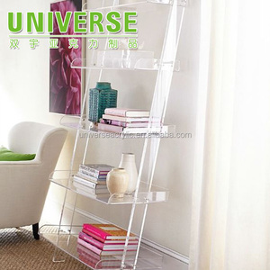 UNIVERSE Acrylic Nesting Table Coffee End Table 3pc Lucite Side Table Set