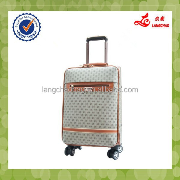 2014 two wheels hot sale luggage case