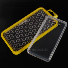 Transparent 2mm tpu gel phone case for huawei y5 lite 2017 back cover