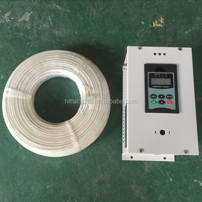 2.5kw/220V Electromagnetic Induction <strong>Heater</strong> with resistant copper wire 50M/Roll & insulation wool for winding coil