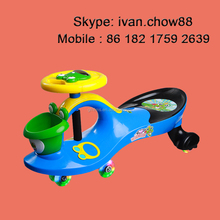 Scentless Plastic Product Children's Toy Ride On Swing Twist Car