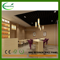 Decorative wood carving wall panel