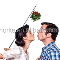 Holiday Extending Mistletoe Selfie Stick