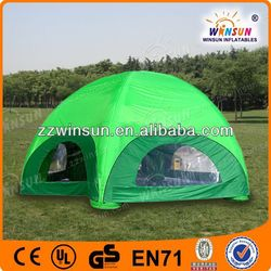 fashion CE pvc inflatable tent family fun camp