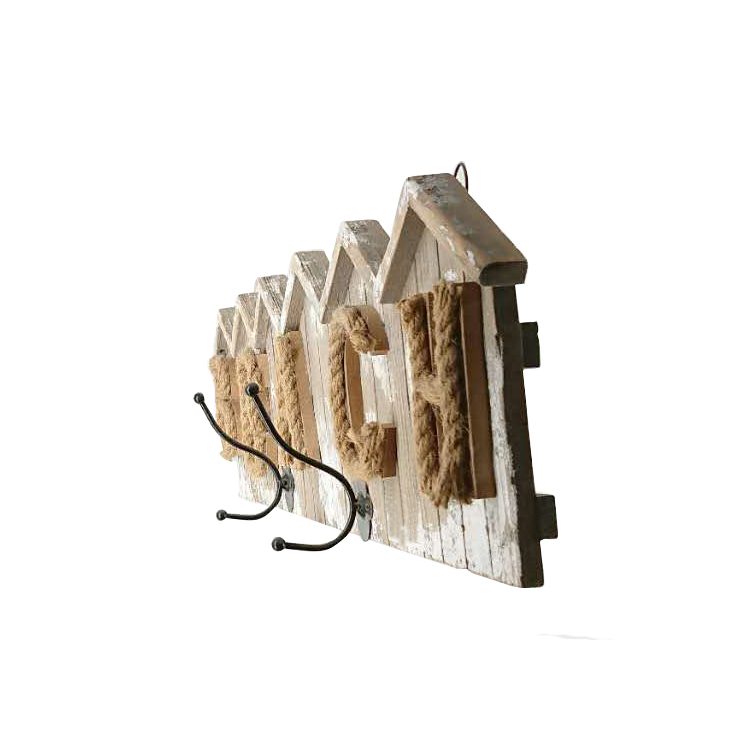 New arrival farmhouse vintage wall hook rustic wall decoration