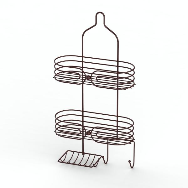 Best selling products new design bathroom plastic shower caddy