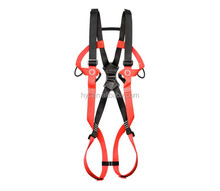 CE EN 361 Nylon Webbing Full Body Harness/Safety Beltfor Industrial Safety Rescue Outdoor Training