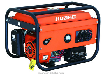 2500W gasoline generator 110V 60Hz electric start with battery 6.5HP engine