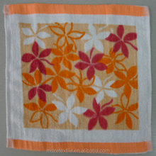 cotton terry printed hand towel