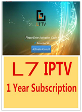 Free Shipping Apk Best Arabic IPTV Subscription L7 IPTV