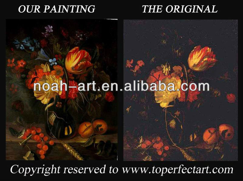 Quality classic pictures of flowers famous painting reproduction