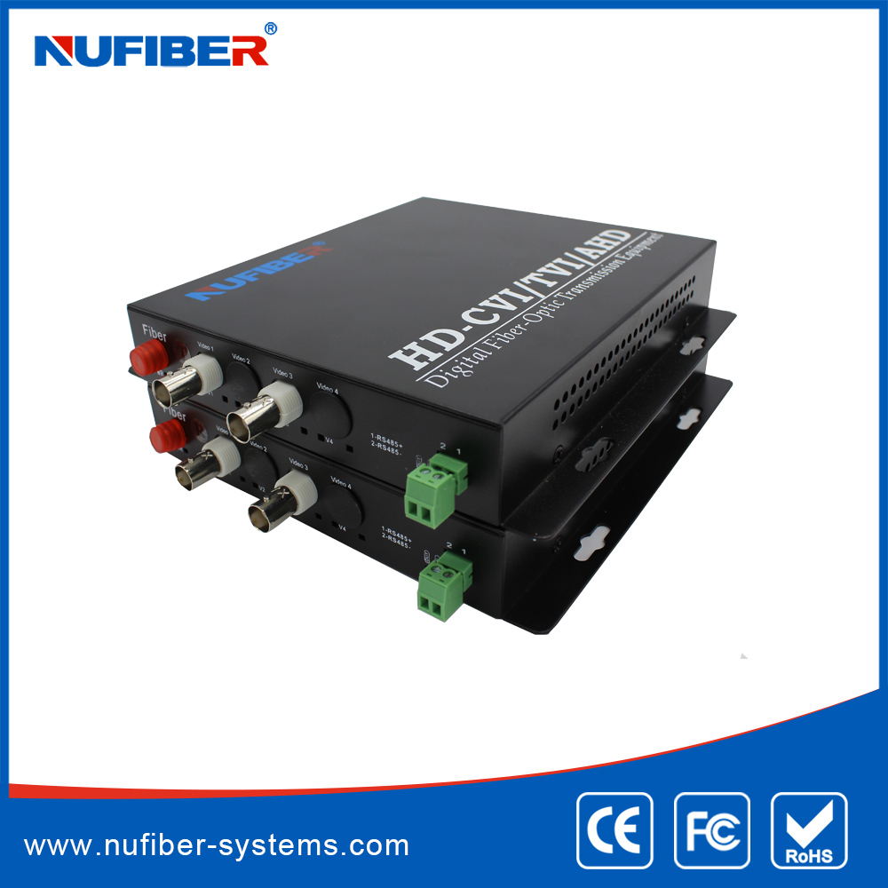 2ch analog video to fiber converter fiber video transmitter receiver
