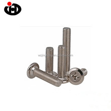 Nickle Plated Furniture Screw Beveled Screw