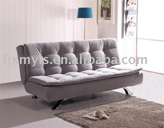 economic solid wood fabric sofa bed