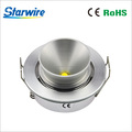 CE RoHS led furniture puck light 3W / Dimmable led cabinet lights / 350mA/700mA