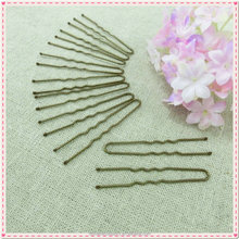 Black Metal Thin U Shape Hairpins Bobby Pin Clips Health Hair Care Beauty Styling Tools 6cm