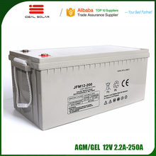 Ideal New Energy AGM GEL Lead acid deep cycle storage small rechargeable 2v 6v 12v 50ah 100ah 200ahh battery