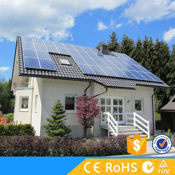 On Grid 1500w High Efficiency Solar Energy Systems For