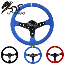 13inch 320MM/14inch 350MM car racing sport steering wheel
