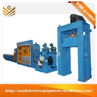 NH450 13 Aluminum Wire Making Machine with continuous annealing
