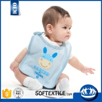 china supplier Multicolor Absorption quilted baby bibs
