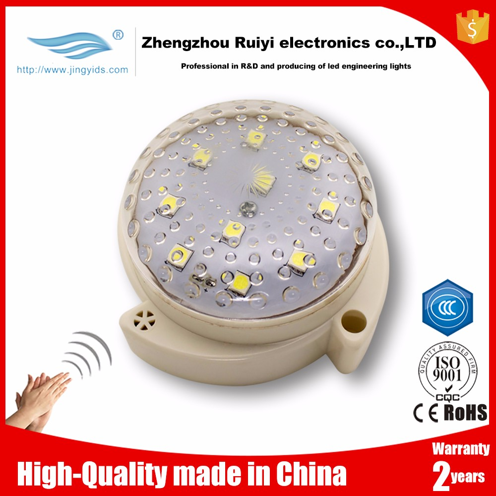 Sound Control led lighting 3w Wireless Voice Activated Sensor led Lamp