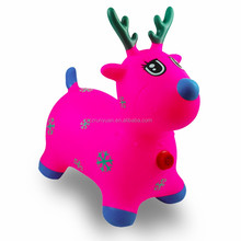 RUNYUAN PVC inflatable deer toy kinds of animal for children outdoor play