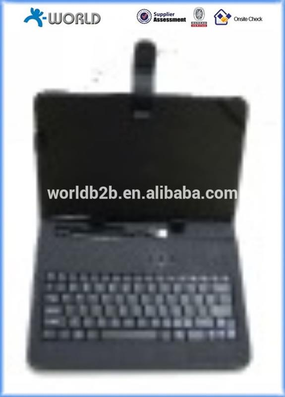 "10"" Tablet Keyboard Case Universal Keyboard Leather Case for 10inch MID,Tablet PC with Stand"