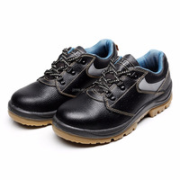 Rismart Mens Construction Site Safety Shoes With Steel Toe Cap