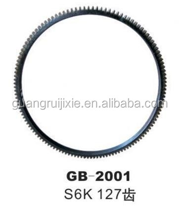 Wholesale S6K 127T Engine Flywheel Gear Ring