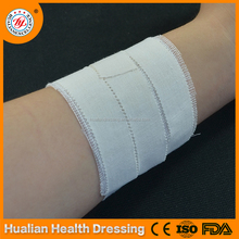 Latex free breathable zinc oxide cotton adhesive tape plaster for wound care