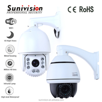 New products High speed Mini wifi ptz outdoor dome ip camera 10x mini speed dome camera