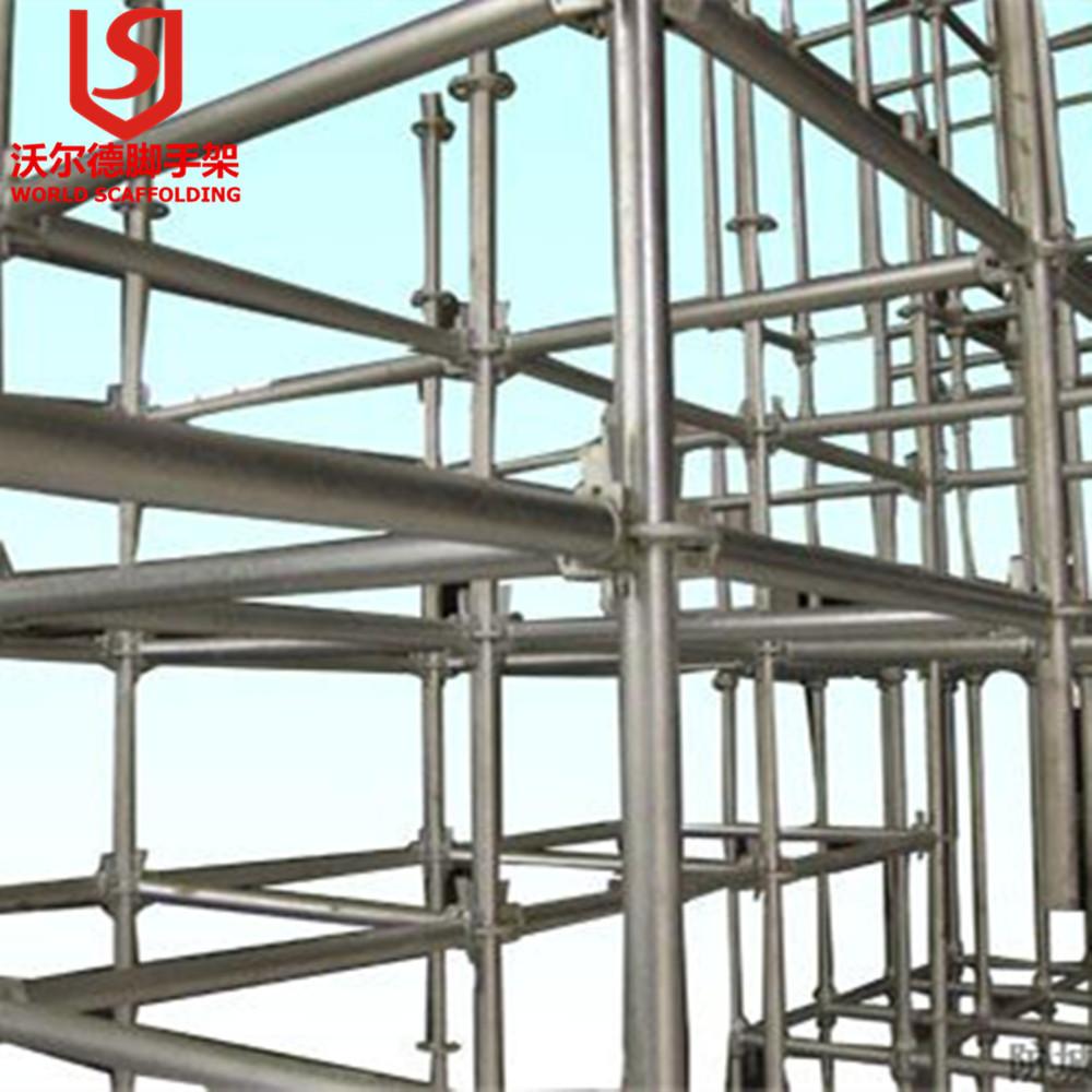 Galvanized Steel Scaffolding : En mm galvanized scaffolding tube steel