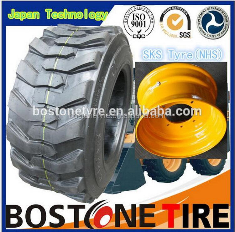 Popular Cheapest unique 14x17.5 15x19.5 skid steer tire