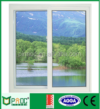 Price of Aluminium Sliding Window With Double Glazed Made In China