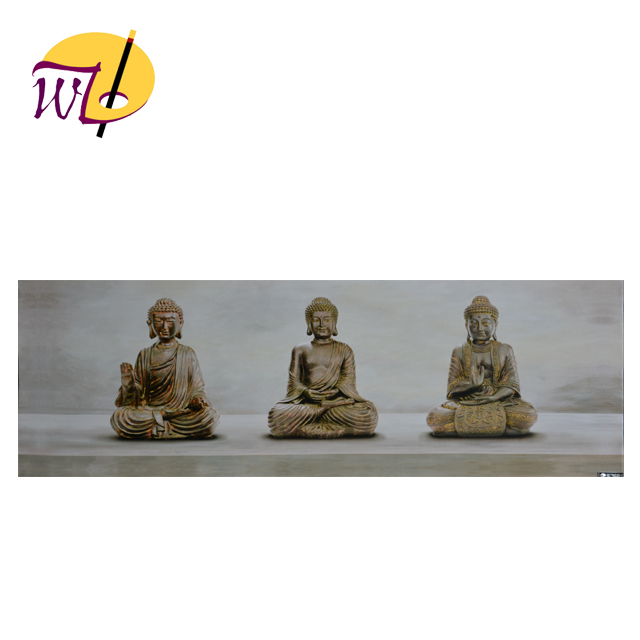3d Relief Buddha Oil Painting for Indoor Decoration