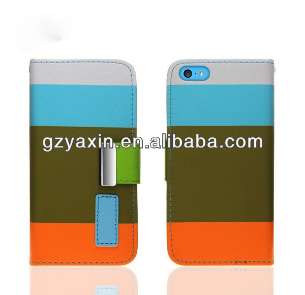 Book case for iphone 5c,best quality phone cases for Iphone 5c manufacture price new case for Iphone5c
