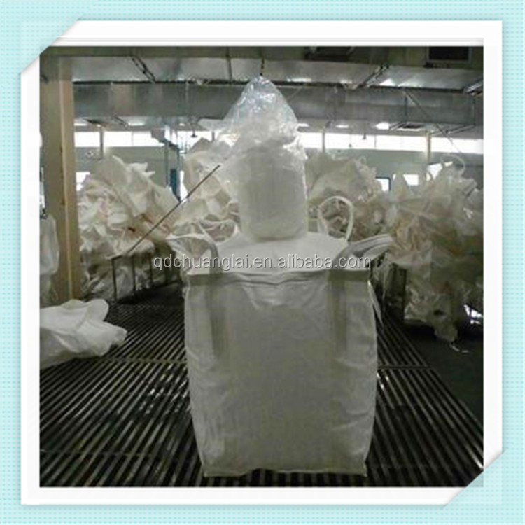 manufacture 1 ton big bulk bag Jumbo Bag for food /corn/ lime /sand /cement