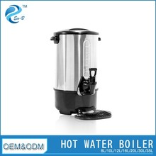 8L-35L Industrial Efficient Stainless Steel Electric Coffee Catering Urn With Temperature Controller