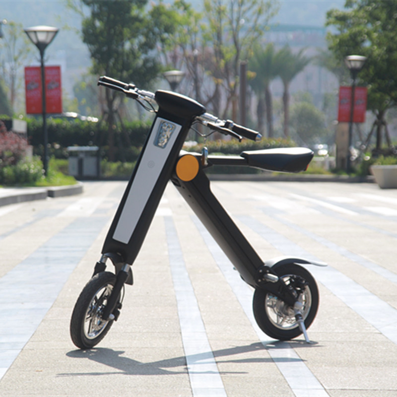Portable K Shape Folding Electric bike e-scooter ebike e bike et scooter