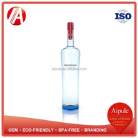 Environmental protection penis glass wine bottle with lid wholesale