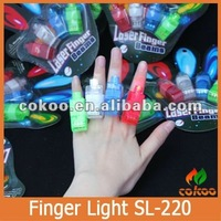 LED design finger rings glow flashing cute finger light up toys for birthday party supplies