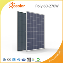 used solar panel 270w poly thin film photovoltaic pv panel module for industrial use