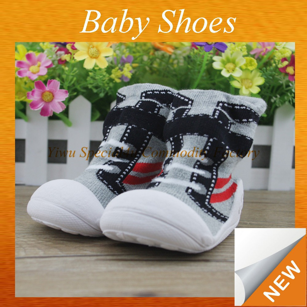 Newest style baby socks shoes fashion baby sock shoes children anti-slip socks shoes SYBS-010