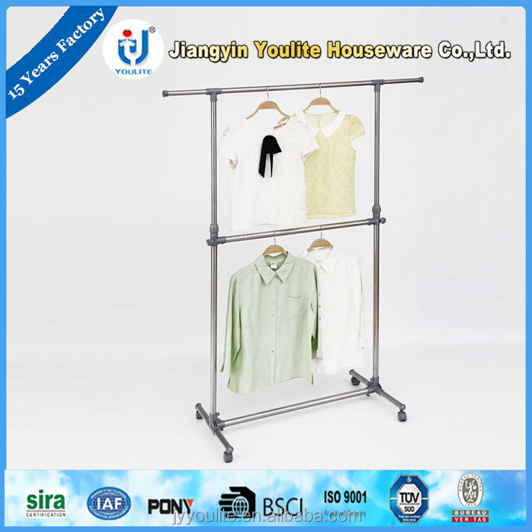Modern multifunctional rail clothes hanger patent