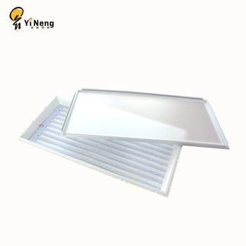 Ultra thin 100lm/w 48w 300x1200mm flat led ceiling panel light with laser light guide plate office lamp
